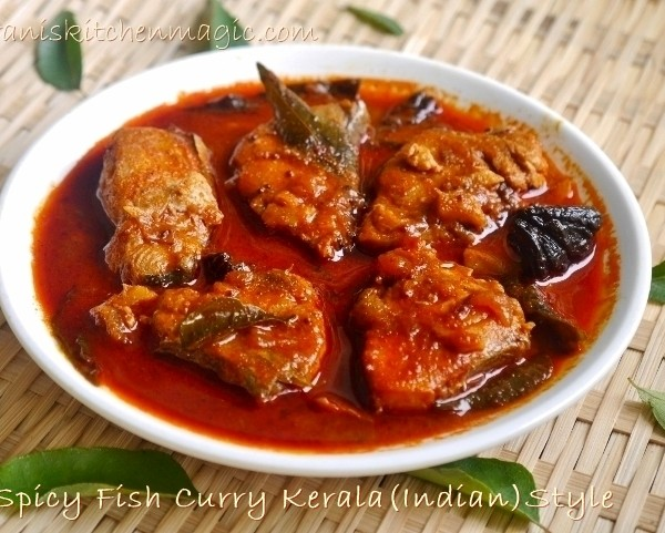 Naadan Fish Curry(King Fish)