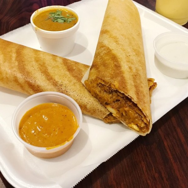 Chicken Tikka Dosa